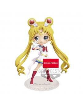 Sailor Moon Eternal The Movie Q Posket Mini Figure Super Sailor Moon Ver. A 14 cm