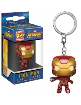 Avengers Infinity War Pocket POP! Vinyl Keychain Iron Man 4 cm