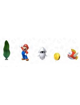 World of Nintendo Super Mario Diorama Set Underwater