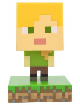 Minecraft 3D Icon Light Alex