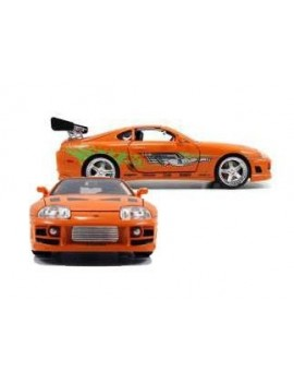 Fast & Furious Diecast Model 1/18 1995 Toyota Supra *orange*