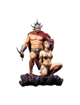 Frazetta Legacy Series Statue 1/4 The Swordsman of Mars 53 cm