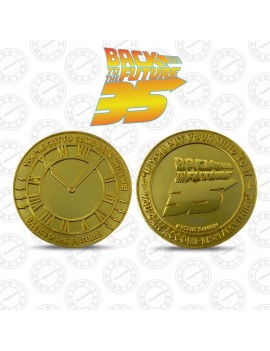 Back to the Future Collectable Coin 35th Anniversary