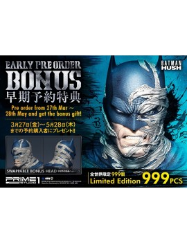 Batman Hush Statue 1/3 Batman Batcave Deluxe Bonus Version 88 cm