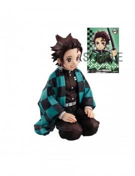 Demon Slayer Kimetsu no Yaiba G.E.M. PVC Statue Tanjiro Kamado Palm Size Edition Deluxe 9 cm