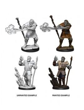 D&D Nolzur's Marvelous Miniatures Unpainted Miniatures Male Firbolg Druid Case (6)