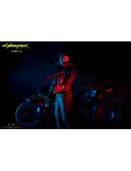 Cyberpunk 2077 Action Figure V Male & Yaiba Kusanagi Set