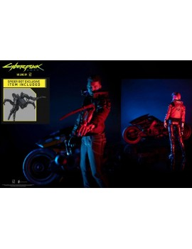 Cyberpunk 2077 Action Figure V Male, V Female & Yaiba Kusanagi Ultimate Set