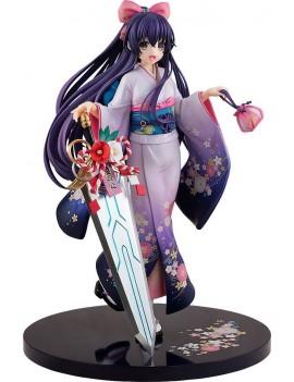 Date A Live PVC Statue 1/7 Tohka Yatogami Finest Kimono Ver. 23 cm