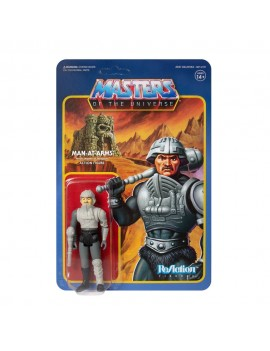 Masters of the Universe ReAction Action Figure Man-At-Arms (Movie Accurate)  funko italia