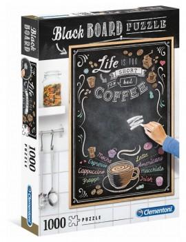Coffee Blackboard Puzzle