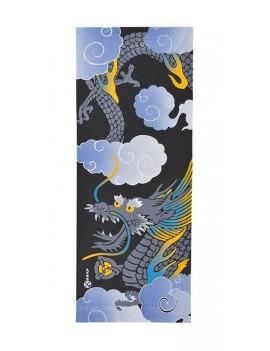 Ukiyo-e Towel Edo Dragon 35 x 90 cm