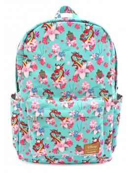 Disney by Loungefly Backpack Mulan Mushu & Crickie