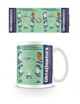 Ghostbusters Mug Call Now