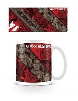 Ghostbusters Mug Illustrative Strips