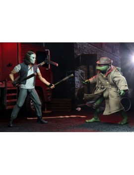 Teenage Mutant Ninja Turtles Action Figure 2-Pack Casey Jones & Raphael in Disguise 18 cm