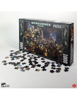 Warhammer 40K Jigsaw Puzzle Gulliman vs Black Legion (1000 pieces)