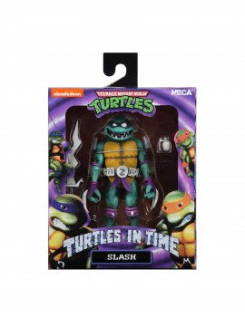 Teenage Mutant Ninja Turtles in Time Action Figure Slash neca