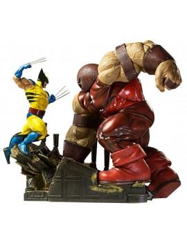 Marvel Comics Diorama 1/6 Wolverine vs Juggernaut 44 cm