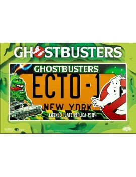 Ghostbusters Replica 1/1 ECTO-1 License Plate