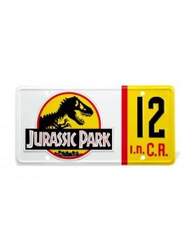 Jurassic Park Replica 1/1 Dennis Nedry License Plate