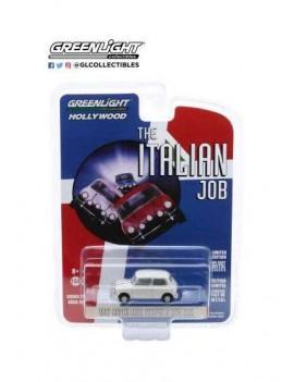 The Italian Job Diecast Model 1/64 1967 Austin Mini Cooper S 1275 MkI white