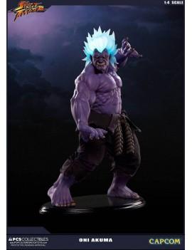 Street Fighter Statue 1/4 Oni Akuma 45 cm