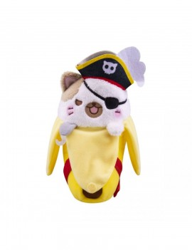 Bananya Plush Figure Pirate Bananya 18 cm