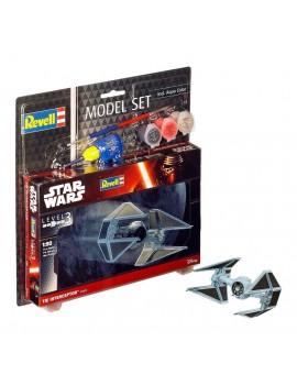Star Wars Model Kit 1/90 Model Set TIE Interceptor 10 cm