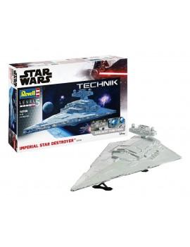 Star Wars Model Kit with Sound & Light Up 1/2700 Imperial Star Destroyer 59 cm