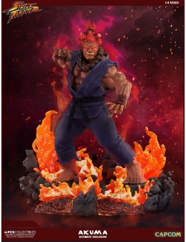 Street Fighter Mixed Media Statue 1/4 Akuma Ultimate Exclusive 58 cm