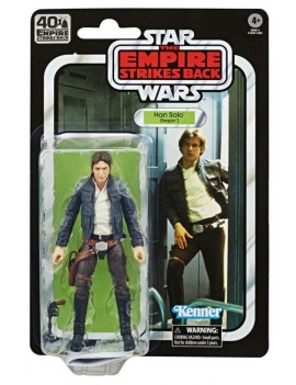 Star Wars Episode V Black Series Action Figure 40th Han Solo Hasbro italia