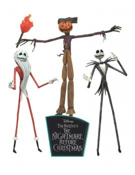 Nightmare before Christmas Action Figures 3-Pack The Jobs of Jack Skellington 18 cm