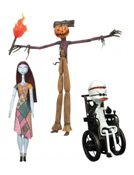 Nightmare before Christmas Select Action Figures 18 cm Best Of Series 2 Assortment (6)