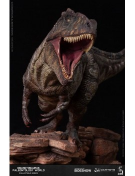 Paleontology World Museum Collection Series Statue Giganotosaurus 32 cm