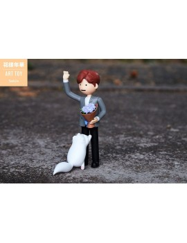 BTS Art Toy PVC Statue Jin (Kim Seokjin) 15 cm