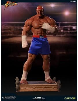 Street Fighter Statue 1/3 Sagat PCS Victory Exclusive 93 cm