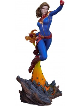 Avengers Assemble Statue 1/5 Captain Marvel 41 cm