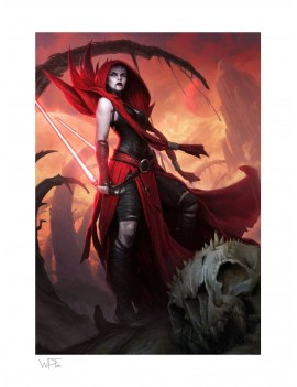 Star Wars Art Print Asajj Ventress: Ascension 46 x 61 cm - unframed