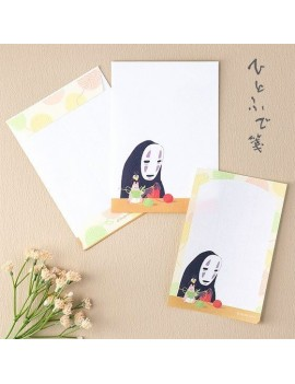 Spirited Away Letter Writing Set No-Face