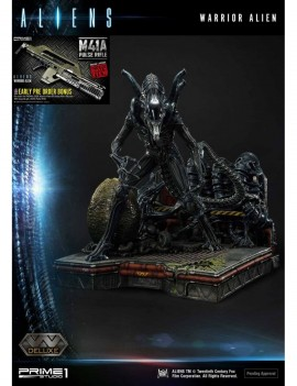 Aliens Premium Masterline Series Statue Warrior Alien Deluxe Bonus Version 67 cm