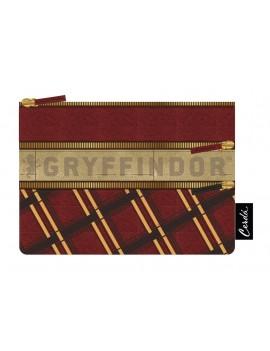 Harry Potter Pencil Case Gryffindor Stripes