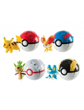 Pokemon Throw 'n' Pop Poké Ball Assortment (4)