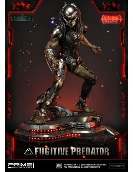 The Predator Statue 1/4 Fugitive Predator Deluxe Ver. 75 cm