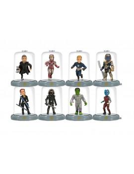 Avengers Endgame Domez Mini Figures 7 cm Series 1 Display (18)