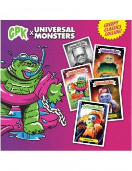Garbage Pail Kids x Universal Monsters Trading Cards Booster Wax Packs Display (24)