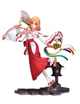 Sword Art Online: Alicization - War of Underworld PVC Statue 1/7 Asuna Miko Ver. 23 cm