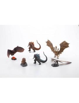 Godzilla: King of the Monsters Gekizou Series PVC Statues 9 - 21 cm Assortment (6)