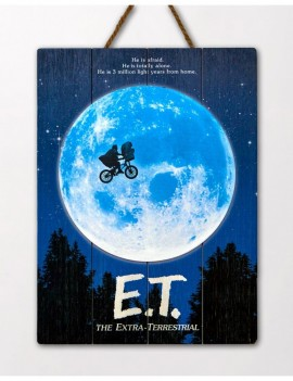 E.T. the Extra-Terrestrial WoodArts 3D Wooden Wall Art The Extra-Terrestrial  30 x 40 cm