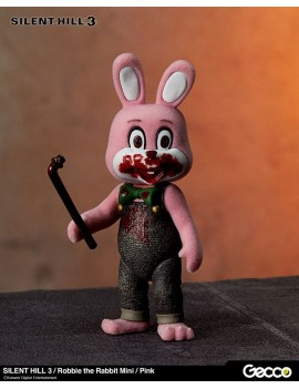 Silent Hill 3 Mini Action Figure Robbie the Rabbit Pink Version 10 cm